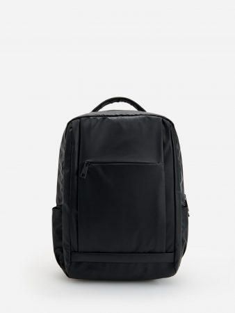 Mens Backpack With Laptop Pocket Black | Reserved Bags, Toiletry Bags