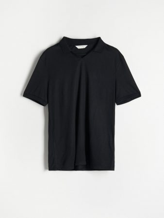 Mens Men`S Polo Black | Reserved Polo Shirts