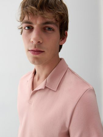 Mens Men`S Polo Pink | Reserved Polo Shirts