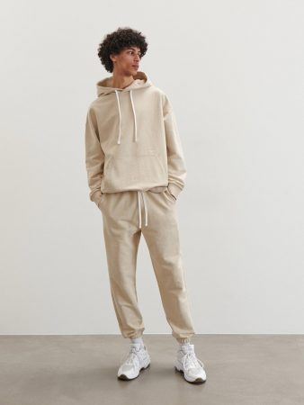 Mens Men`S Trousers Beige | Reserved Trousers