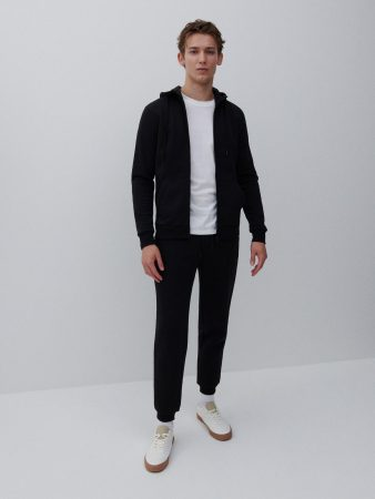 Mens Sweatpants Black | Reserved Trousers