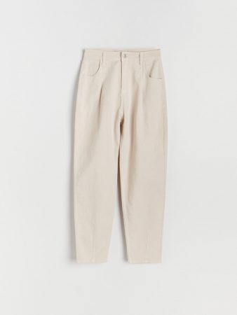 Womens Balloon Trousers Light Grey | Reserved Trousers