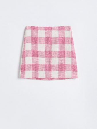 Womens Checked Mini Skirt Multicolor | Reserved Sets, Co-Ords