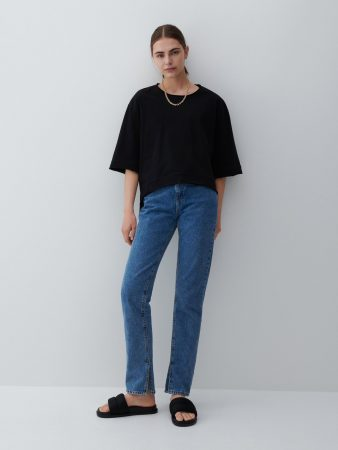 Womens Cotton Blouse Black   Reserved Blouses
