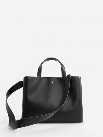 Womens Double-Compartment Bag Black | Reserved Bags, Backpacks