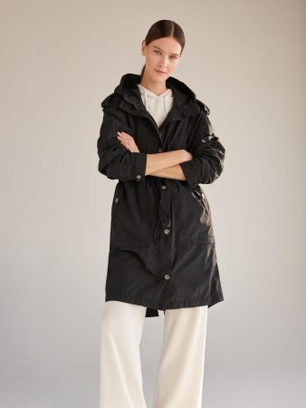 Womens Hooded Parka Black | Reserved Coats, Jackets, Puffer Jackets