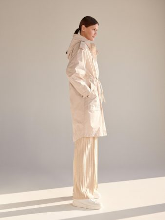 Womens Hooded Parka Ivory | Reserved Coats, Jackets, Puffer Jackets