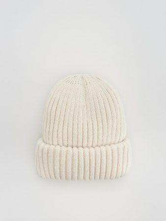 Womens Jersey Beanie Ivory   Reserved Hats, Scarves, Gloves