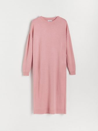 Womens Jersey Dress Pink | Reserved Jumpers, Cardigans