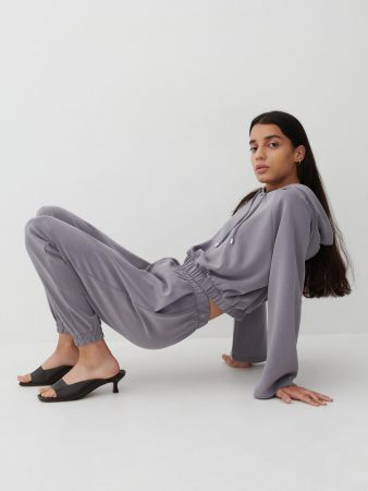 Womens Joggers Light Grey | Reserved Sets, Co-Ords