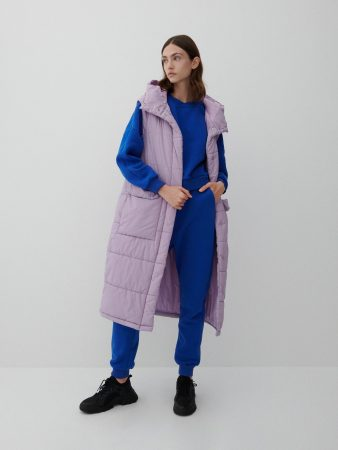 Womens Ladies` Out Vest Różowy | Reserved Coats, Jackets, Puffer Jackets