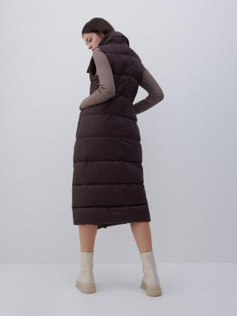 Womens Ladies` Vest Brown | Reserved Coats, Jackets, Puffer Jackets