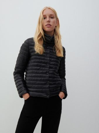 Womens Lightweight Quilted Jacket Black | Reserved Coats, Jackets, Puffer Jackets