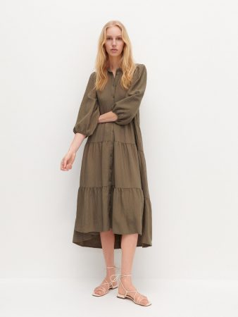 Womens Oversized Dress Green   Reserved Dresses, Jumpsuits