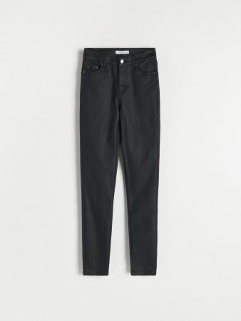 Womens Push Up Trousers Black | Reserved Trousers