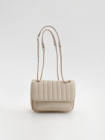 Womens Quilted Bag Ivory | Reserved Bags, Backpacks
