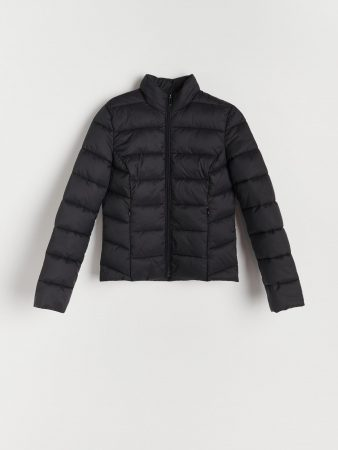 Womens Quilted Jacket Black | Reserved Coats, Jackets, Puffer Jackets