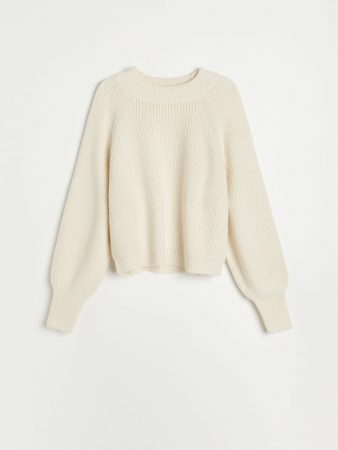 Womens Soft Knit Sweater Ivory | Reserved Jumpers, Cardigans