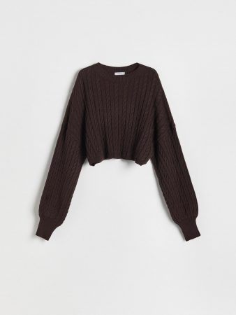 Womens Sweater Brown   Reserved Jumpers, Cardigans