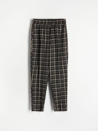 Womens Trousers With Creases Multicolor   Reserved Trousers