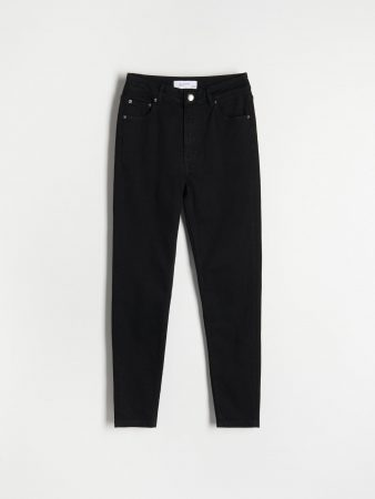 Womens Slim Jeans Black | Reserved Jeans