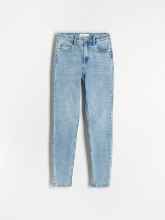 Womens Push Up Jeans Blue   Reserved Jeans